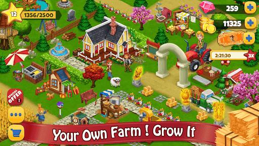 Farm Day Village Farming: Offline Games pc screenshot 1