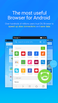 DU Browser—Browse fast & fun pc screenshot 1