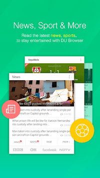DU Browser—Browse fast & fun pc screenshot 2