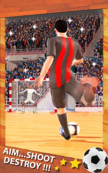 Shoot Goal - Futsal Indoor Soccer pc screenshot 1