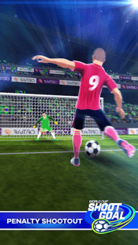 Shoot Goal: World Leagues Soccer Game pc screenshot 1