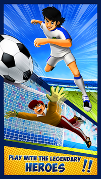 Soccer Striker Anime - RPG Champions Heroes pc screenshot 1