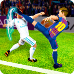 Football Players Fight Soccer for pc logo