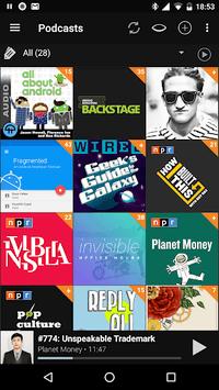 Podcast Addict pc screenshot 1