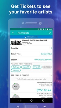 Bandsintown Concerts pc screenshot 1