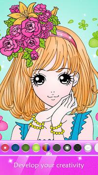 Princess Coloring Book for Kids & Girls Free Games pc screenshot 1