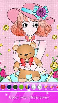 Princess Coloring Book for Kids & Girls Free Games pc screenshot 2