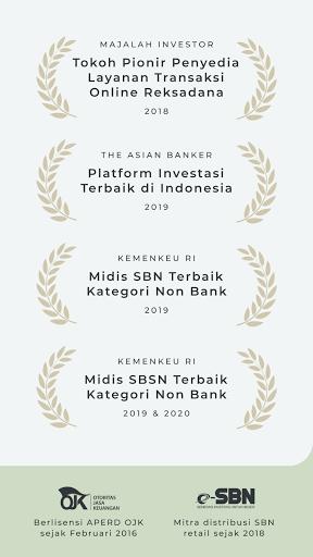 Bareksa - Investasi Reksadana & SBN Online pc screenshot 1