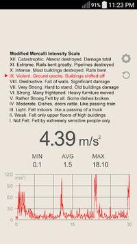 Vibration Meter pc screenshot 1