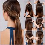 Step by step hair for pc logo