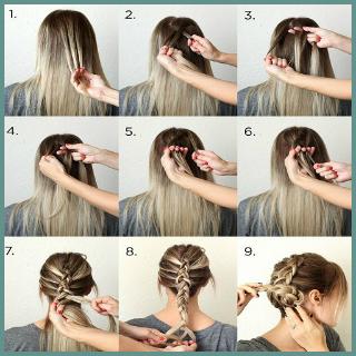 Step by step hair PC screenshot 3
