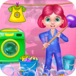 Clean Up - House Cleaning icon