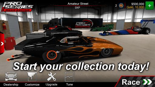 Pro Series Drag Racing pc screenshot 1