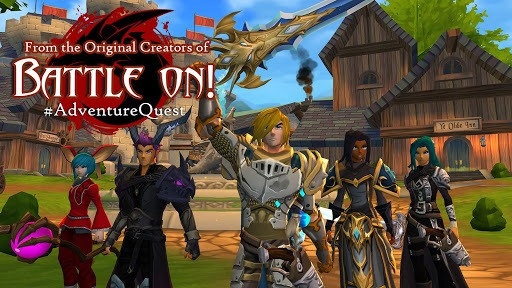 AdventureQuest 3D MMO RPG pc screenshot 1