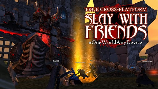 AdventureQuest 3D MMO RPG pc screenshot 1