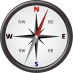 Gyro Compass App for Android: True North Direction icon