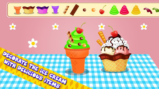 Ice Cream Cone Maker - Cooking Games pc screenshot 1