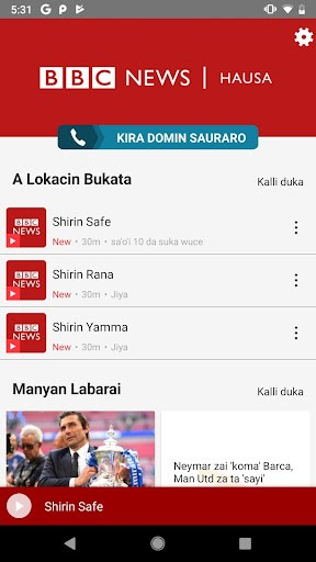BBC News Hausa PC screenshot 2