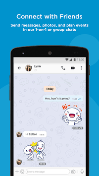 BBM - Free Calls & Messages pc screenshot 1