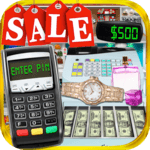 Credit Card Cash Register Simulator - Money Games icon