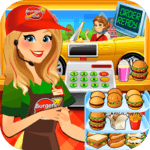 Drive Thru Simulator Kids Free icon