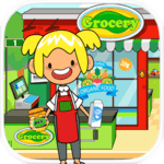 My Pretend Grocery Store - Supermarket Learning icon