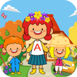 My Pretend Home & Family - Kids Play Town Games! icon