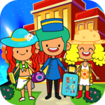 My Pretend Hotel - Kids Luxury Summer Vacation for pc logo
