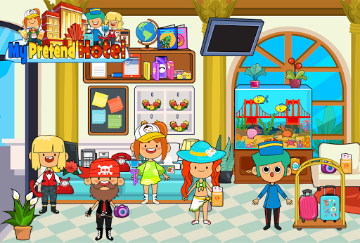 My Pretend Hotel - Kids Luxury Summer Vacation pc screenshot 1
