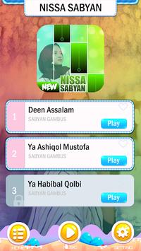 Nissa Sabyan Piano Tiles pc screenshot 1
