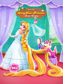 Long Hair Princess Wedding pc screenshot 1