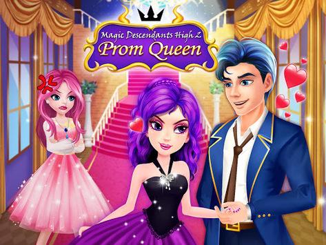 Magic Descendants High School 2: Prom Queen pc screenshot 1