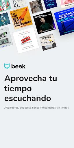 Beek: Audiolibros, Podcasts y Meditaciones PC screenshot 1