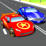 Super Kids Car Racing In Traffic icon