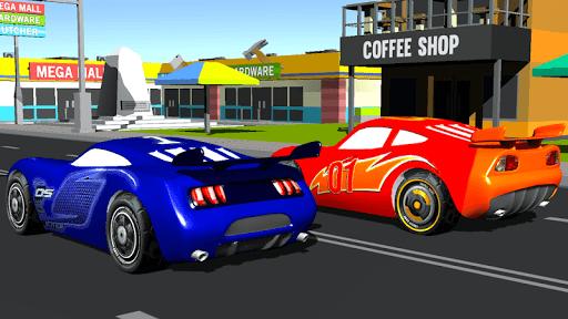 Super Kids Car Racing In Traffic pc screenshot 1