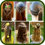 Hairstyles for girls icon