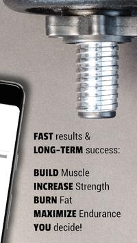 Personal Gym Workout Plan: Fitness & Bodybuilding pc screenshot 2