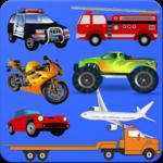 Plane, Bike, Car, Truck, Bus Puzzles icon