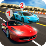 Airborne Real Car Racing Free Game icon