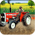 Farm Tractor Harvester & Seeding Simulator 3d icon