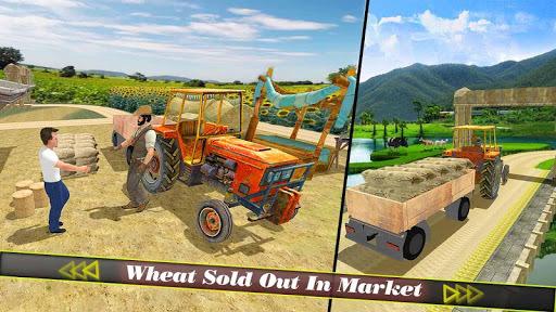 Farm Tractor Harvester & Seeding Simulator 3d pc screenshot 1