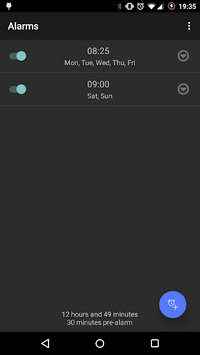 Simple Alarm Clock Free No Ads pc screenshot 1