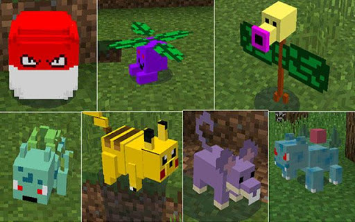 Pixelmon Mod for Minecraft pc screenshot 2