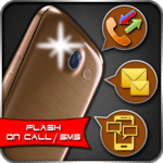 Flashlight Alert on Call / SMS icon