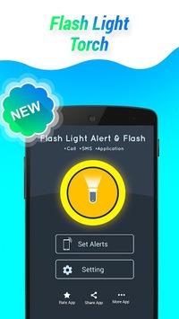 Flashlight Alert on Call / SMS pc screenshot 2