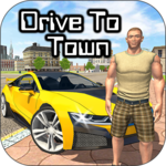 Drive To Town for pc logo