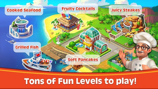 Cooking Rush - Chef's Fever Games pc screenshot 1