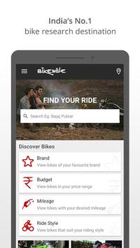 BikeWale -Search bike, scooter pc screenshot 1