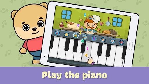 Kids piano pc screenshot 1