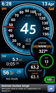 Ulysse Speedometer pc screenshot 1